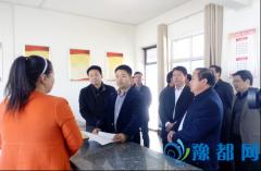 市委副书记贾宏宇到虎岭经开区调研