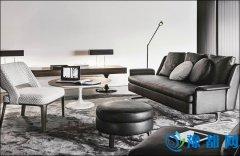 当质感邂逅小清新 黑色皮沙发如何搭配显温馨