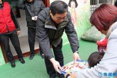 县财政局团支部赴县爱心残疾儿童康复部开展慰问活动