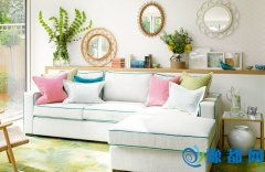 百搭沙发灰白米  小心机让色彩低调不单调