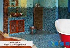 再美的浴室柜  也受不了马赛克这样的折腾