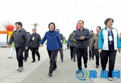 """我运动 我健康 我快乐                      ――2016年""""全民健身行・幸福三门峡""""徒步健身大会掠影"""