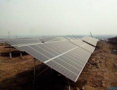 磙子营乡:中民投光伏扶贫发电项目一期已完成设备安装