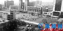 """郑州火车站东广场明年再建2座环形天桥""""解堵"""""""