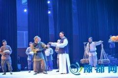 河南廉政历史戏剧《九品巡检――暴式昭》巡演在我市精彩上演