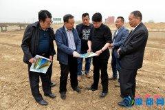 """县委书记聂晓光一行调研""""两河""""治理、西平生态园建设"""