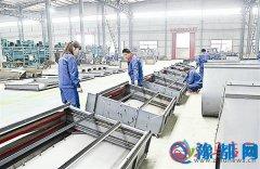 汝南县九阳机械制造公司100多套先进设备投入生产