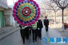 卢氏县公安局组织民警到烈士陵园祭奠先烈