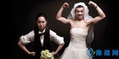 夫妻反串婚纱照怎么拍 个性有趣的反串婚照
