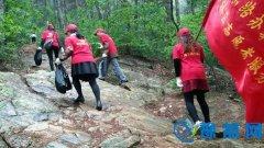 南京路办事处志愿者前往贤山风景区开展志愿服务活动