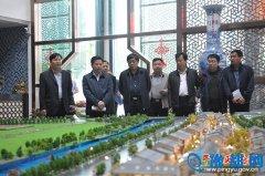 濮阳市华龙区来我县考察学习商务中心区建设