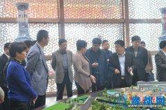 范县党政考察团来我县参观考察商务中心区建设