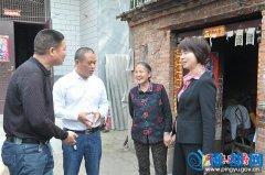 市委常委、统战部部长姚新文到我县调研脱贫攻坚工作