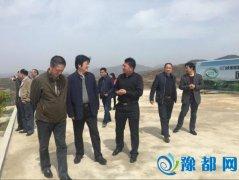 河南省农业厅副厅长杨海蛟到雏鹰农牧集团卢氏项目基地调研