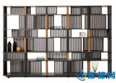 米兰新品速递:多变且精致的Poltrona Frau书架
