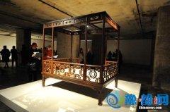 """中国古代皇室家具""""进驻""""柏林二战地堡"""