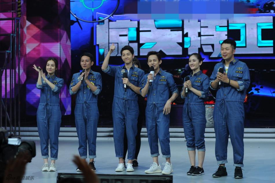 新浪娱乐讯 5月11日,宋仲基来到长沙进行中国综艺首秀《快乐大本营》的录制。据悉录制中,欧巴频频重新经典剧情,花式撩妹。