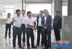 市委副书记、市长陈星深入我县调研扶贫开发和环境保护工作