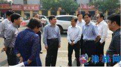 李宝清到人民街道西刘庄农贸市场调研