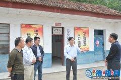 县委副书记朱雪河深入到高杨镇调研脱贫攻坚工作