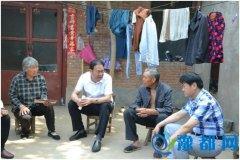 县委常委、政法委书记陈佳深入到蔡沟乡方刘村调研指导脱贫攻坚工作