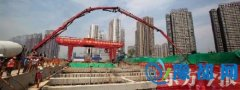 郑州地铁5号线首座车站封顶 预计2019年试运营