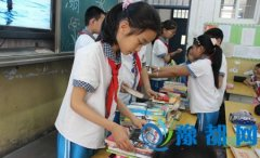 """我区组织开展""""青春助力扶贫""""书籍捐助活动"""