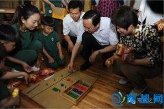"""县长赵峰等县领导开展""""六一""""儿童节慰问活动"""