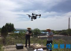 城乡规划管理局:航拍大峪镇山区 服务光伏发电项目