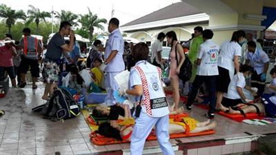 泰国两艘搭载中国游客快艇相撞 中国游客2人死亡34人受伤