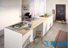 汉斯格雅创新厨房 高大上与低奢内并重