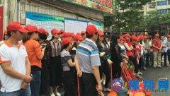 人民街开展义务劳动强力助推双创工作