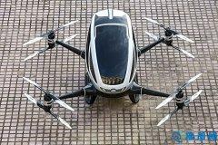 图:亿航184起飞!中国制造全球首款载客无人机将测试