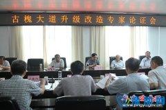 县委常委、常务副县长王新科组织召开古槐大道升级改造专家论证会