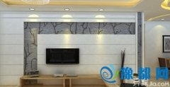 电视背景墙大理石施工方法  就是这么简单