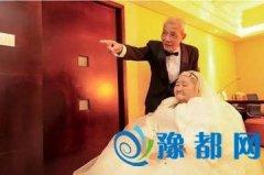84岁老人包下整楼示爱老伴