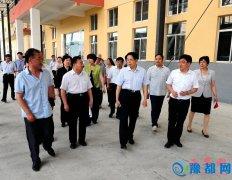 省政协副主席靳克文到我县调研少数民族经济发展及脱贫攻坚工作