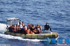 天气回暖移民潮涌现 欧盟舰队一周内救起万余难民