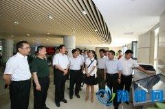 朱清孟厅长到河南省大学生就业创业综合服务基地调研