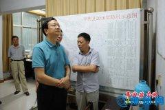 县长赵峰检查指导全县防汛工作