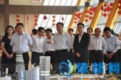 书记马懿、代市长程志明同党政考察团考察华南城