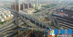 陇海高架中州大道立交全互通 节省约20分钟