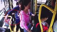 男子站台偷乘客手机 公交司机出手擒贼
