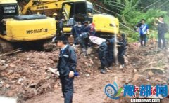 杭州山体滑坡续:现场找到6人其中3人已遇难