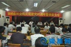 桐柏县林业局隆重召开庆祝建党95周年暨表彰大会