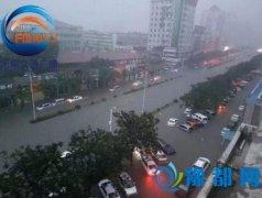 新乡迎来有记录以来最大暴雨 启动一级应急响应