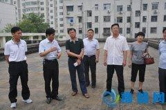 区人大调研《中华人民共和国大气污染防治法》贯彻实施情况