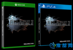 《最终幻想15》游戏封面公布 一个主角三个基友