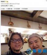 高晓松刘欢熬夜看球 网友:传说中两个加起来一平方米的脸