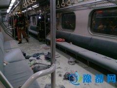 台铁松山车站列车爆炸已25人伤 其中2人重伤(图)